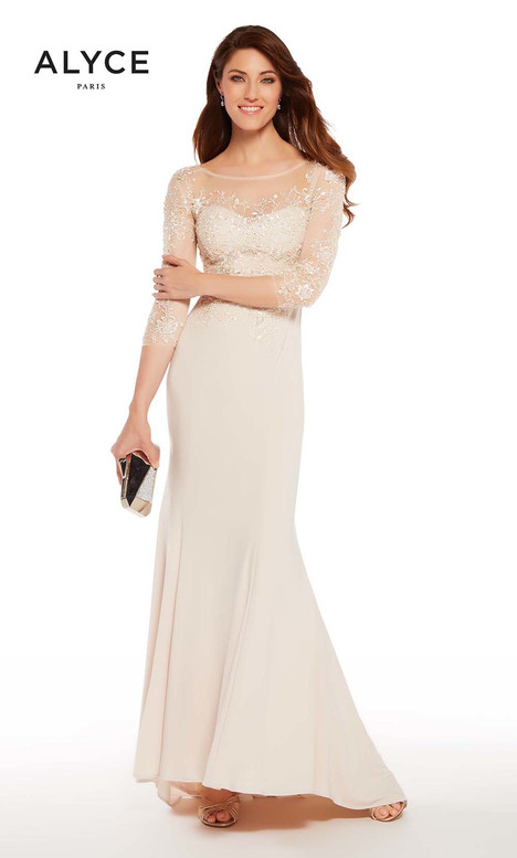 27257 (Champagne) gown from the 2018 Alyce Paris: JDL Collection collection, as seen on dressfinder.ca