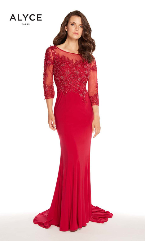 27257 (Garnet) Mother of the Bride                              dress by Alyce Paris : Mother of the Bride