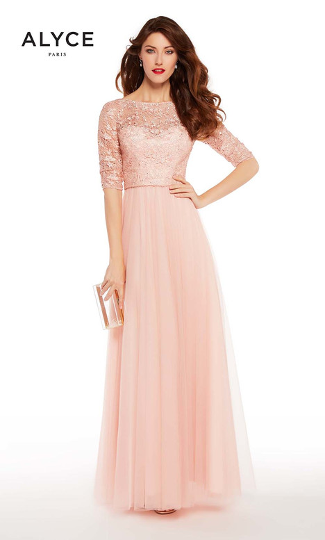27261 (Shell) Mother of the Bride                              dress by Alyce Paris : Mother of the Bride