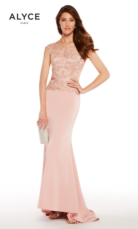 27262 (Dusty Rose) gown from the 2018 Alyce Paris: JDL Collection collection, as seen on dressfinder.ca