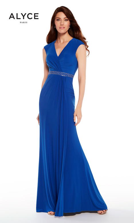 27265 (Cobalt) Mother of the Bride                              dress by Alyce Paris : Mother of the Bride