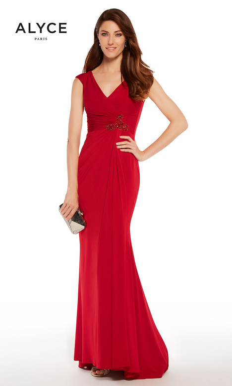 27266 (Crimson) gown from the 2018 Alyce Paris: JDL Collection collection, as seen on dressfinder.ca