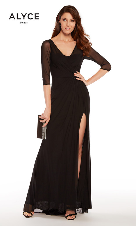 27267 (Black) gown from the 2018 Alyce Paris: JDL Collection collection, as seen on dressfinder.ca