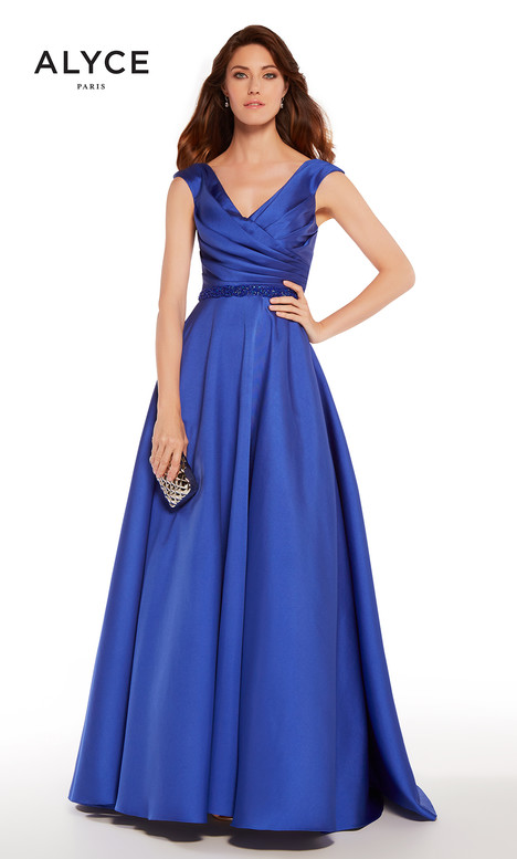 27271 (Cobalt) gown from the 2018 Alyce Paris: JDL Collection collection, as seen on dressfinder.ca