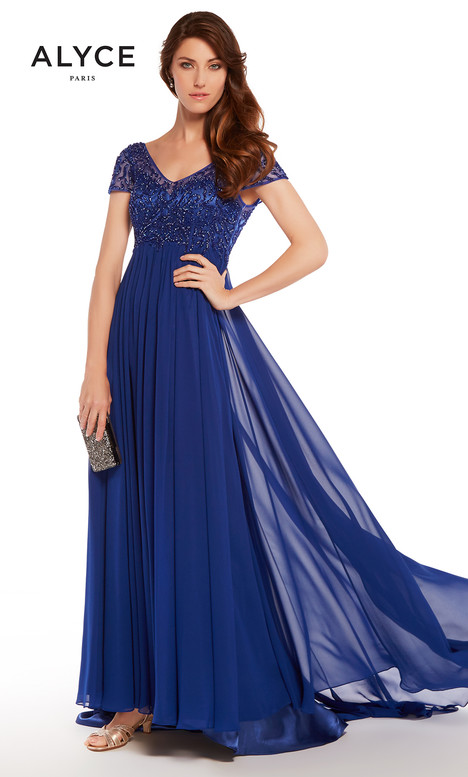 27272 (Royal) Mother of the Bride                              dress by Alyce Paris: JDL Collection