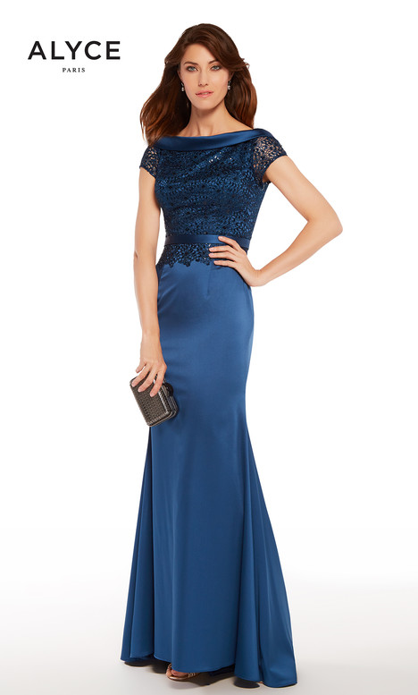 27274 (Navy) gown from the 2018 Alyce Paris: JDL Collection collection, as seen on dressfinder.ca