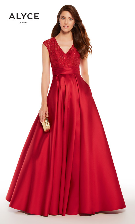 27278 (Crimson) gown from the 2018 Alyce Paris: JDL Collection collection, as seen on dressfinder.ca