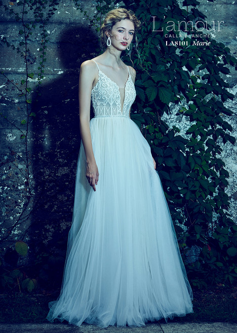 Marie (LA8101) gown from the 2018 L'Amour by Calla Blanche collection, as seen on dressfinder.ca