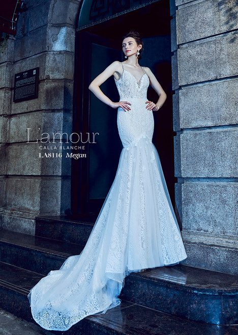 Megan (LA8116) Wedding                                          dress by L'Amour by Calla Blanche