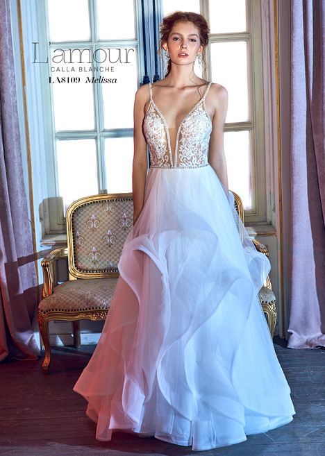 Melissa (LA8109) Wedding                                          dress by L'Amour by Calla Blanche