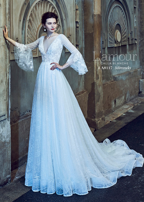 Miranda (LA8117) gown from the 2018 L'Amour by Calla Blanche collection, as seen on dressfinder.ca