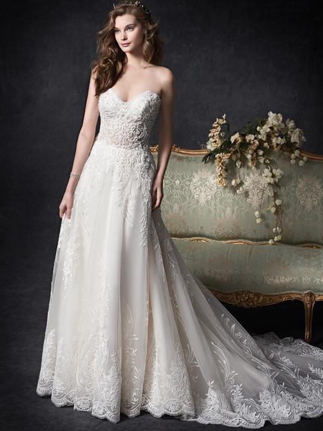 1757 Wedding                                          dress by Kenneth Winston