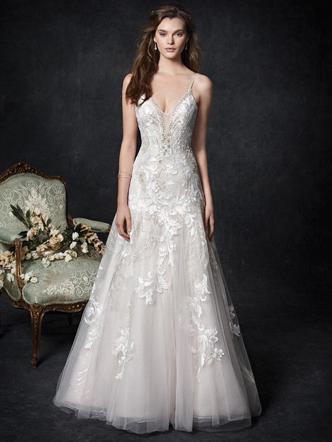 1758 gown from the 2018 Kenneth Winston collection, as seen on dressfinder.ca