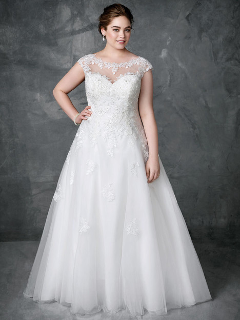 3403 Wedding                                          dress by Femme by Kenneth Winston