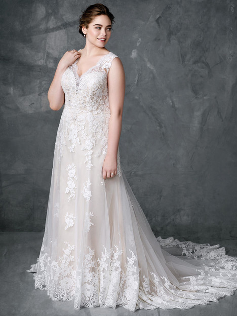 3405 Wedding                                          dress by Femme by Kenneth Winston