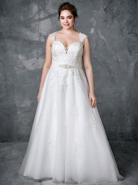 3410 Wedding                                          dress by Femme by Kenneth Winston