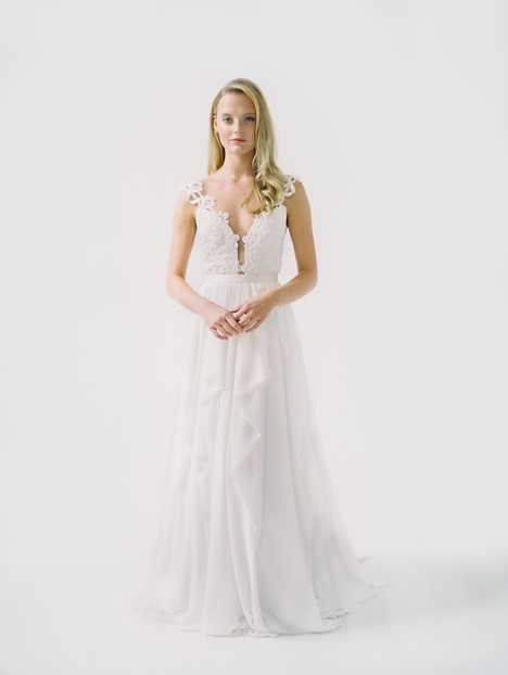 Julie Wedding                                          dress by Truvelle