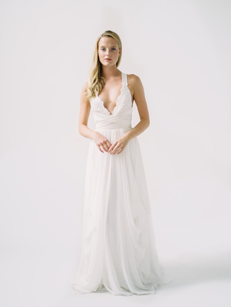 Rebecca Wedding                                          dress by Truvelle