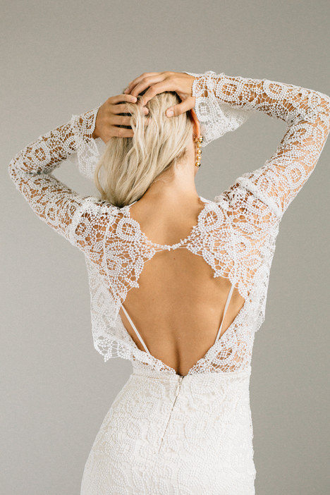 Halsey (back) Wedding                                          dress by Laudae