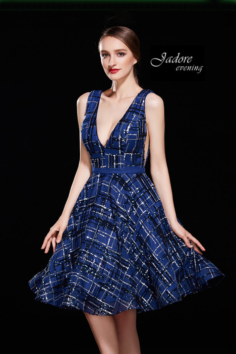 J12004 (Navy) Prom                                             dress by Jadore Evening