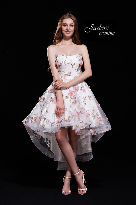 J12005 (Ivory Pink) Prom                                             dress by Jadore Evening