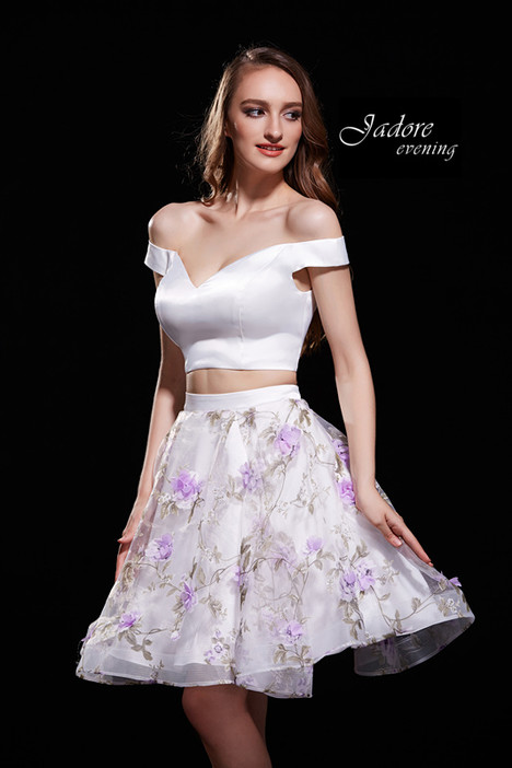 J12007 (Ivory Lilac) Prom                                             dress by Jadore Evening