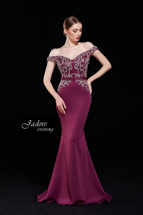 J12009 (Cabernet) Prom                                             dress by Jadore Evening