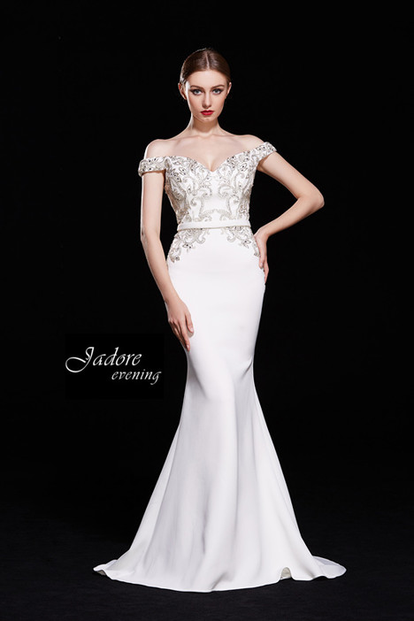 J12009 (Ivory) Prom                                             dress by Jadore Evening