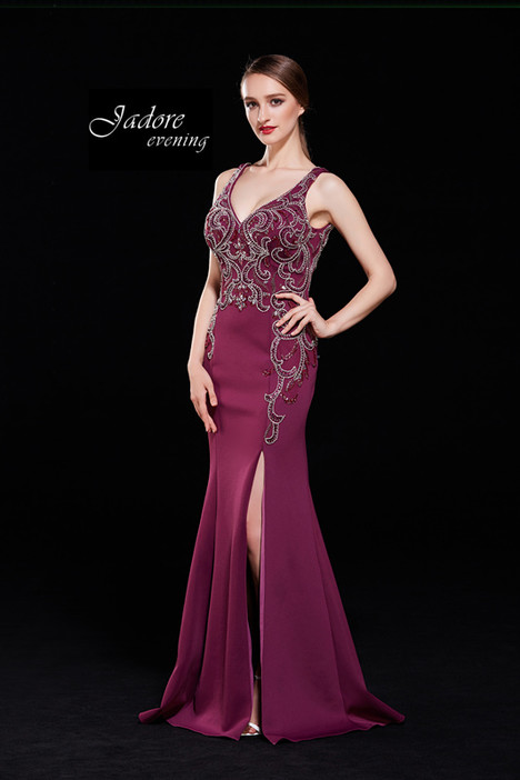 J12010 (Cabernet) Prom                                             dress by Jadore Evening