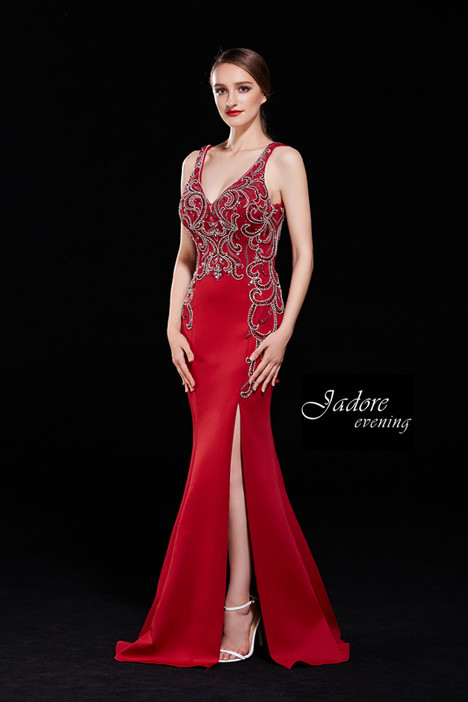 J12010 (Red) Prom                                             dress by Jadore Evening