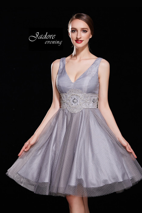 J12012 (Grey) Prom                                             dress by Jadore Evening