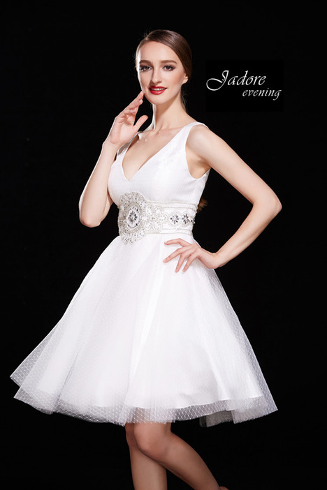 J12012 (Ivory) Prom                                             dress by Jadore Evening