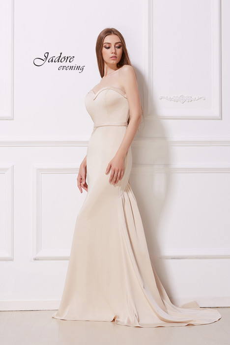 J12013 (Champagne) Prom                                             dress by Jadore Evening