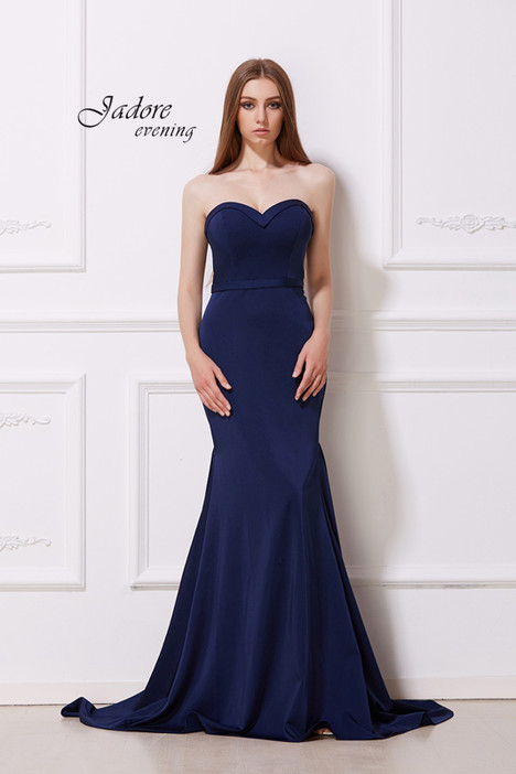 J12013 (Navy) Prom                                             dress by Jadore Evening