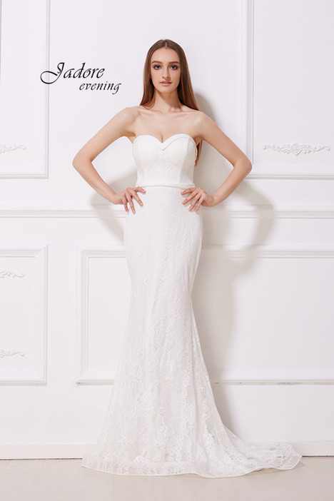 J12014 (Ivory) Prom                                             dress by Jadore Evening