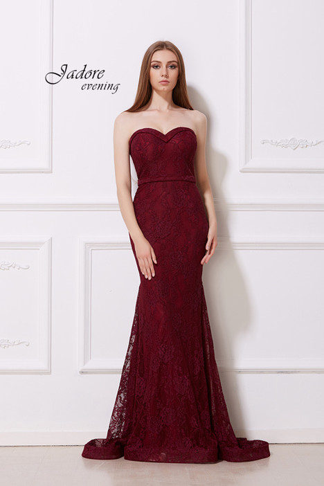 J12014 (Wine) Prom                                             dress by Jadore Evening