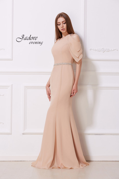 J12019 (Champagne) Prom dress by Jadore Evening