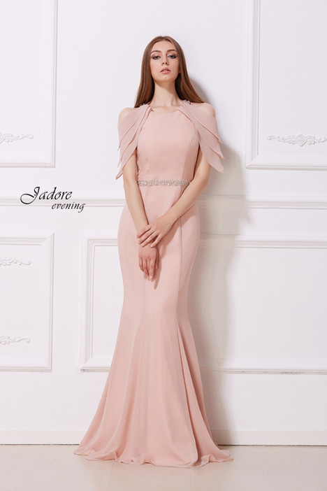 J12019 (Dusty Pink) Prom dress by Jadore Evening