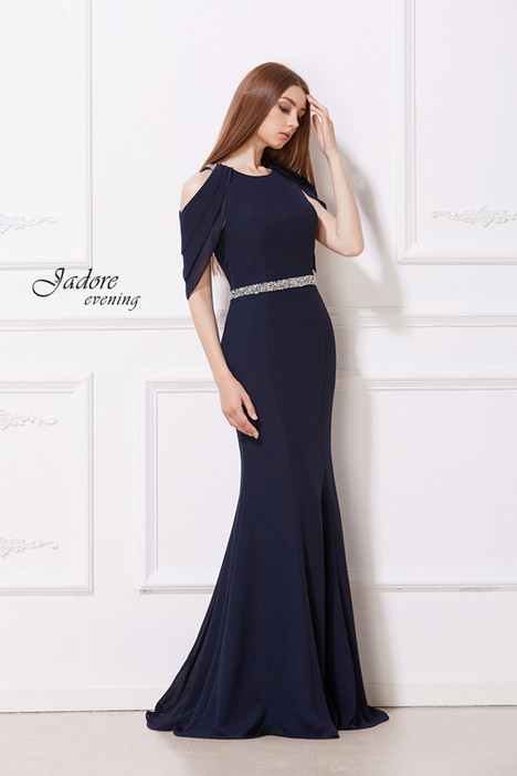 J12019 (Navy) Prom                                             dress by Jadore Evening