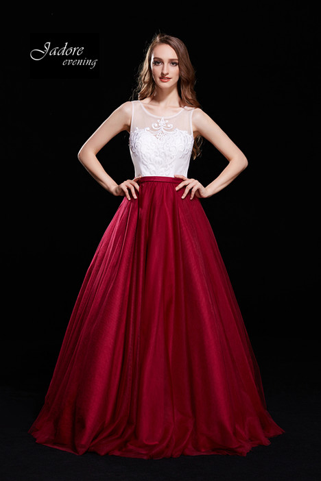 J12021 (Wine) gown from the 2018 Jadore Evening collection, as seen on dressfinder.ca