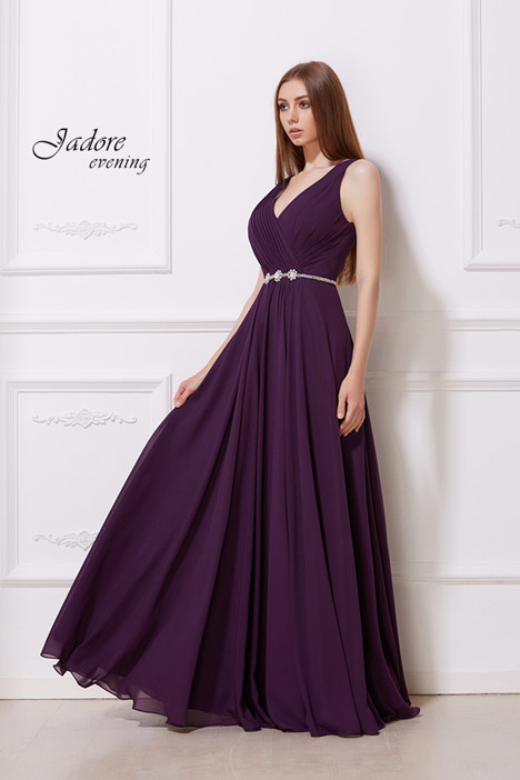 J12027 (Plum) Prom dress by Jadore Evening