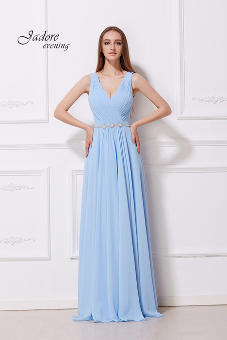 J12027 (Power Blue) Prom dress by Jadore Evening