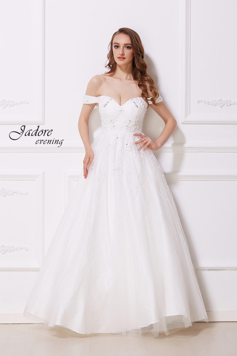 J12036 (Ivory) gown from the 2018 Jadore Evening collection, as seen on dressfinder.ca