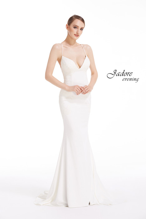 J12038 (Ivory) Prom                                             dress by Jadore Evening