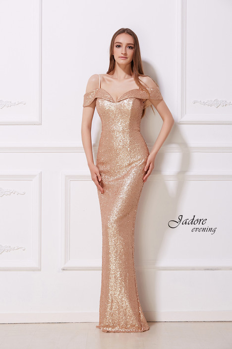 J12039 (Gold) Prom                                             dress by Jadore Evening