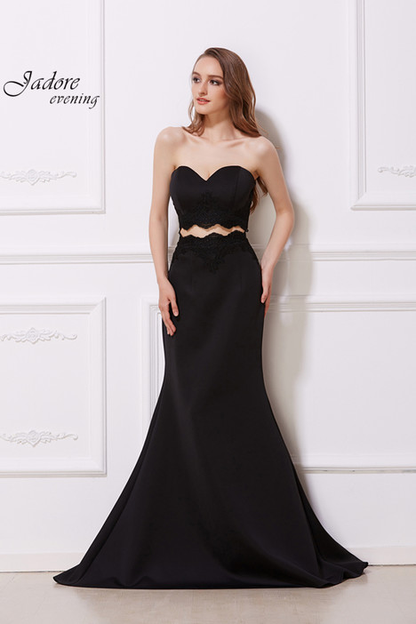 J12049 (Black) gown from the 2018 Jadore Evening collection, as seen on dressfinder.ca