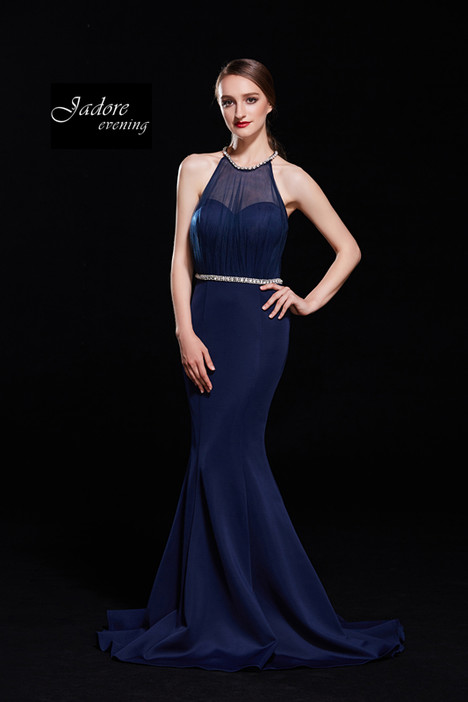 J12062 (Navy) gown from the 2018 Jadore Evening collection, as seen on dressfinder.ca