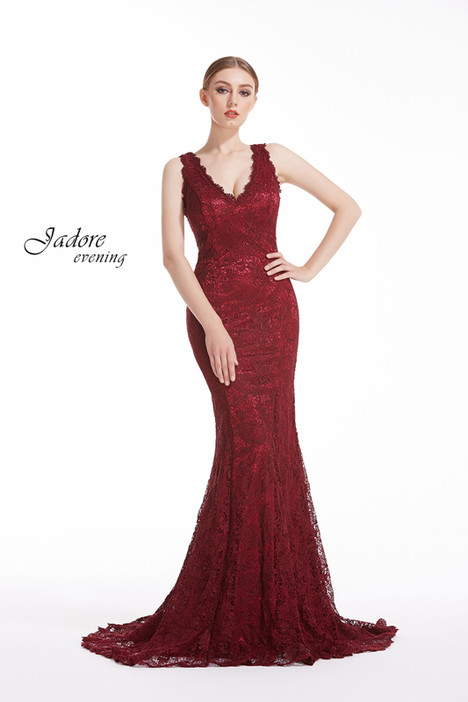 J12070 (Wine) gown from the 2018 Jadore Evening collection, as seen on dressfinder.ca