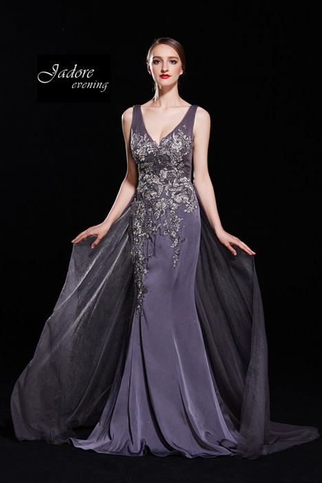 J12079 (Gunmetal) gown from the 2018 Jadore Evening collection, as seen on dressfinder.ca