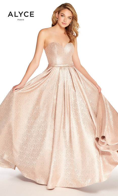 60126 (Blush) gown from the 2018 Alyce Paris collection, as seen on dressfinder.ca